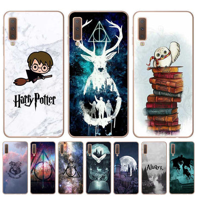 Harry Potter Movie Minimalist Illustration with Glasses and Lightning coque  pour Samsung Galaxy S4 mini