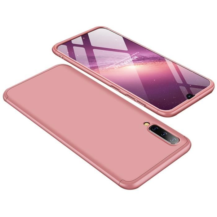 Galaxy A50 CoqueUltra Slim 3 en 1 Rigide PC Cover 360 Degres Protection  Anti