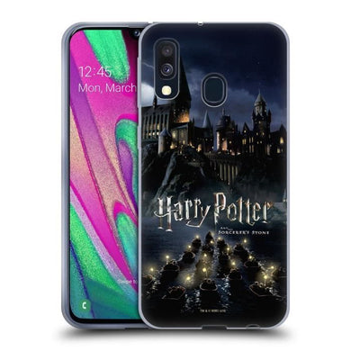 Officiel Harry Potter Hogwarts Deathly Hallows II Coque en Gel molle pour  Samsung Galaxy A50