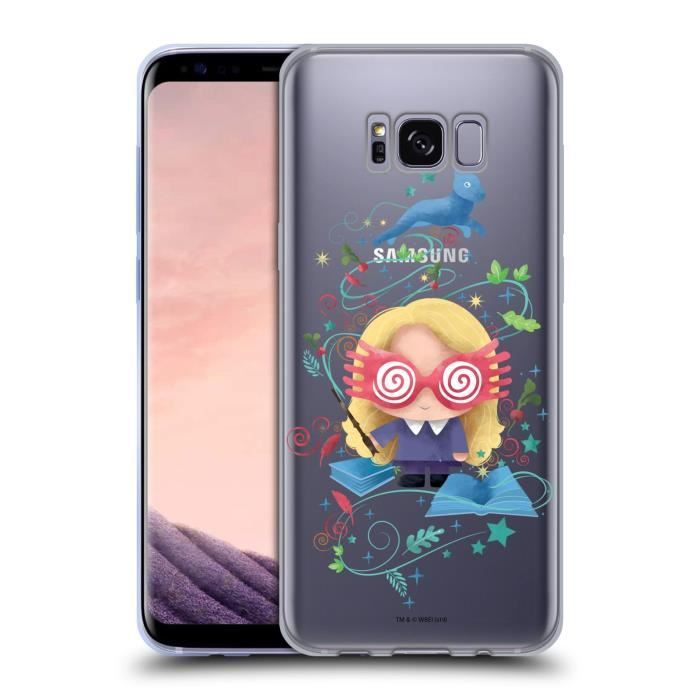 Officiel Harry Potter Luna Lovegood Deathly Hallows II Coque en Gel molle  pour Samsung Galaxy A40 (2019)