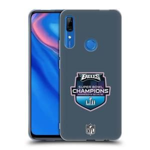 Officiel NFL New England Patriots 5 2017 Super Bowl Li Champion Coque  D'Arrière Rigide Pour Huawei P30 Lite