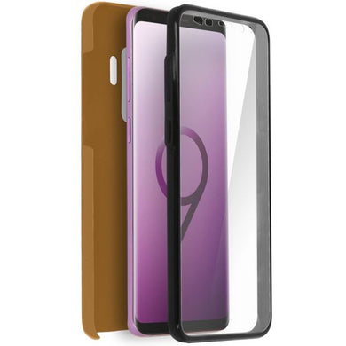 Coque Samsung Galaxy S9 Plus Protection Silicone + Arrière Polycarbonate