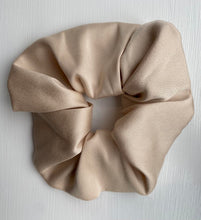 Load image into Gallery viewer, Cream Silk Scrunchy