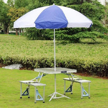 Load image into Gallery viewer, Foldable Picnic Table Set