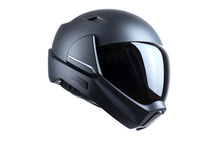 Electric motorcycle helmet