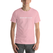Load image into Gallery viewer, WDII Repeat Logo Boyfriend Tee (Pink)
