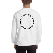 Load image into Gallery viewer, WDII Circle Logo Oversized Crew (White)