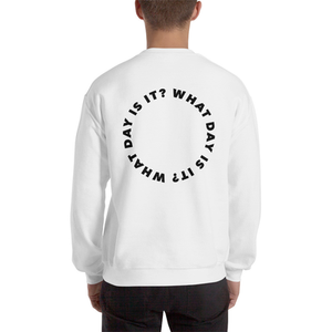 WDII Circle Logo Oversized Crew (White)