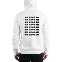 Load image into Gallery viewer, I Am Who I Am Repeat Hoodie (White)