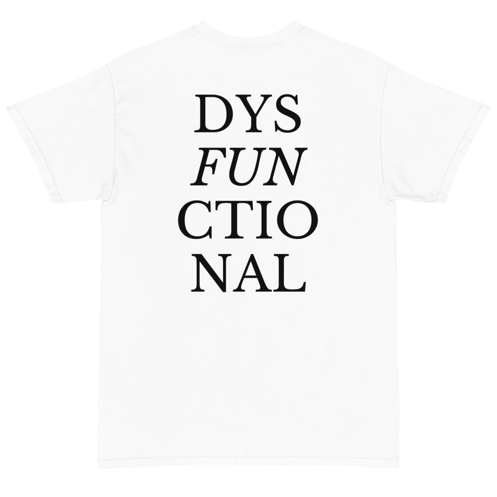 Dysfunctional Tee (White)