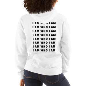 I Am Who I Am Repeat Hoodie (White)