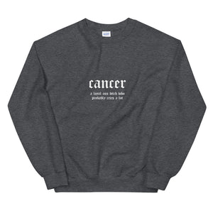 Cancer Crew (Dark Grey)