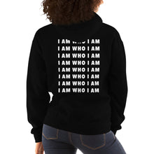 Load image into Gallery viewer, I Am Who I Am Repeat Hoodie (Black)
