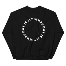 Load image into Gallery viewer, WDII Circle Logo Oversized Crew (Black)