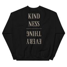 Load image into Gallery viewer, Kindness > Everything Crew (Black)