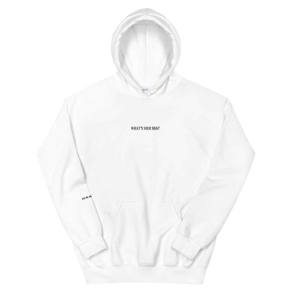 Whats Your Sign Hoodie Virgo (White)