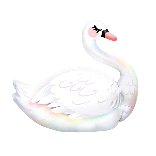 Swan_graceful_helium_balloon_popsticicecream