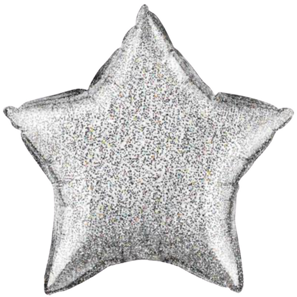 Glittergraphic_silver_star_foil_balloon_popstic