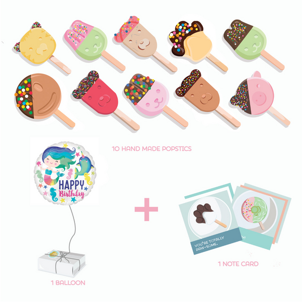 Birthday Friends Gift Pack Popstic Ice cream