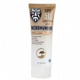 Headhunter Sunscreen SPF-50 Lt. Brown Paraben Free 3 Oz