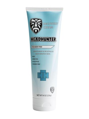 Headhunter Hydrating vitamins and herbal Recovery Cream 8 Oz
