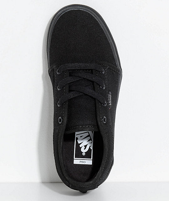 VANS YOUTH CHUKKA LOW - BLACKOUT