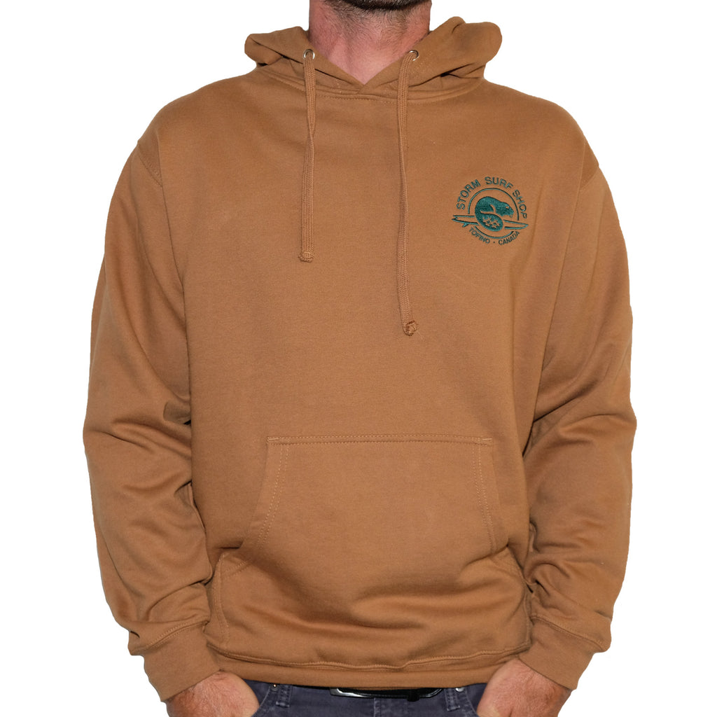 "The Embroidered ""Beaver"" Pullover"