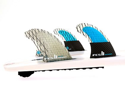 FCS II SUP Performer PC Carbon Medium Quad Fin Set