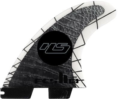 FCS II HS PC Carbon Large Tri-Quad Fins