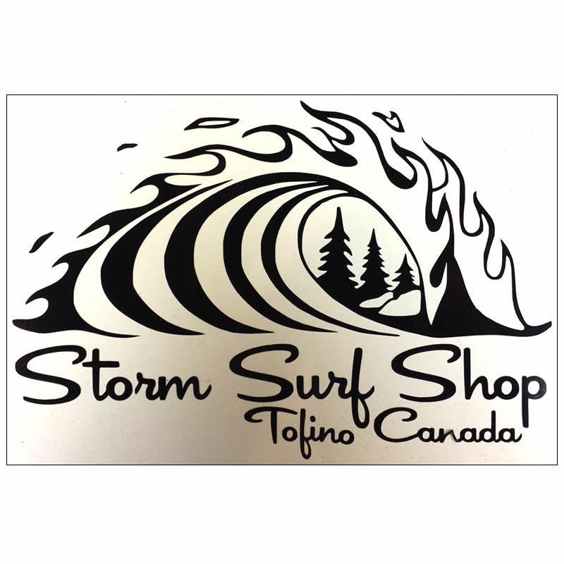 The Storm Classic Wave Die-Cut Sticker