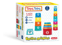 Juego Infantil Topa Topa Vasitos Apilables