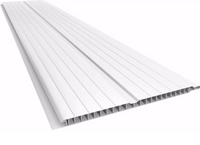 Tabla PVC 6m Blanco 6mm