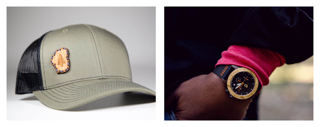 Lake Tahoe hats and watches