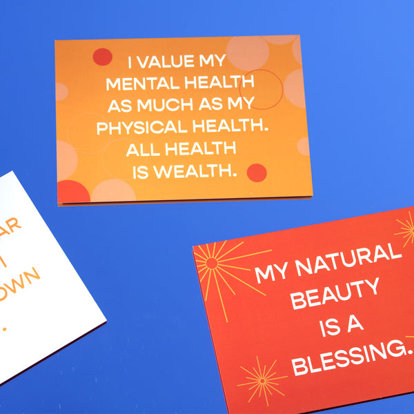 KLG Affirmation Postcards