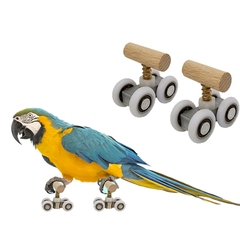 Mini Roller Skates Bird Toy