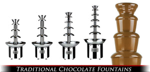 Chocolate Fountain Fondue Fountain