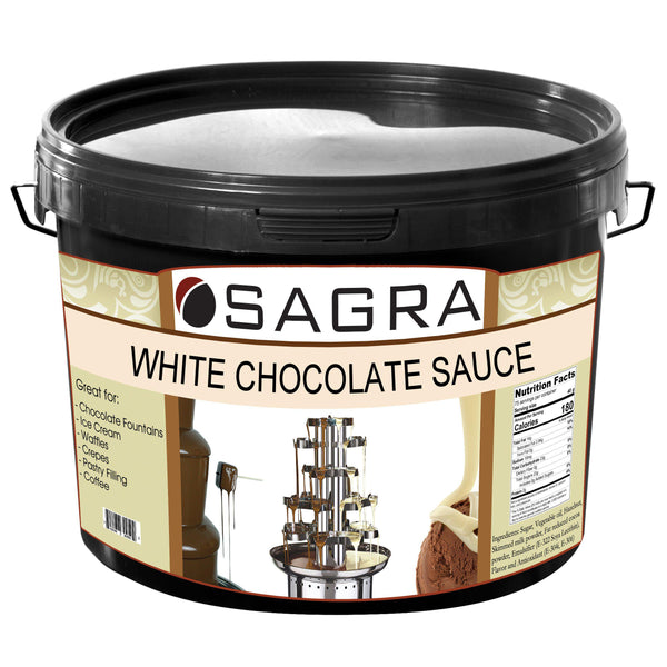 White Chocolate  - Liquid Chocolate Sauce