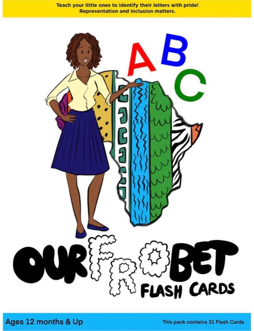 Lifetime Edition OurFroBet Phonics Flash Cards