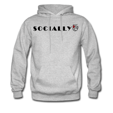 Load image into Gallery viewer, Socially Distant Hoodie - heather gray