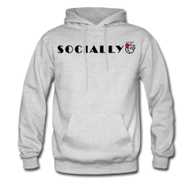 Load image into Gallery viewer, Socially Distant Hoodie - ash