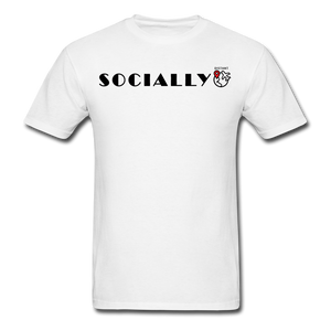 Socially Distant T-Shirt - white
