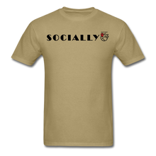 Load image into Gallery viewer, Socially Distant T-Shirt - khaki