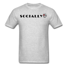 Load image into Gallery viewer, Socially Distant T-Shirt - heather gray