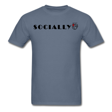 Load image into Gallery viewer, Socially Distant T-Shirt - denim