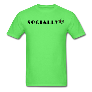 Socially Distant T-Shirt - kiwi
