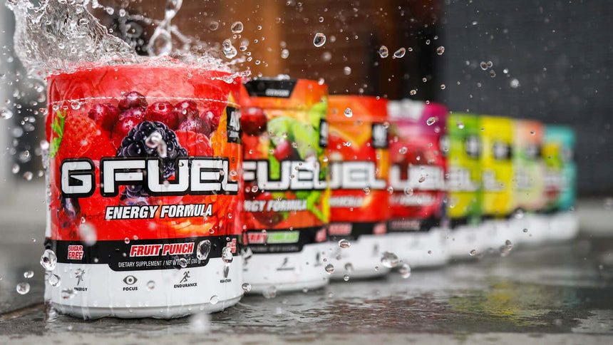G Fuel Energy Formula Tubs