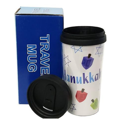 HANUKKAH TRAVEL MUG