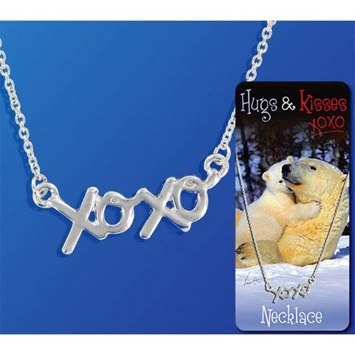 HUGS & KISSES XOXO NECKLACE