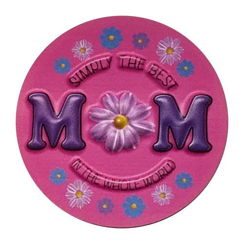 SIMPLY THE BEST MOM MAGNET