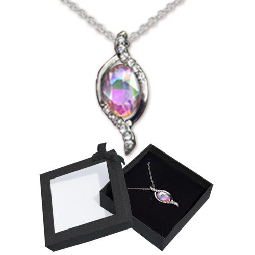 MARQUISE IRIDESCENT NECKLACE